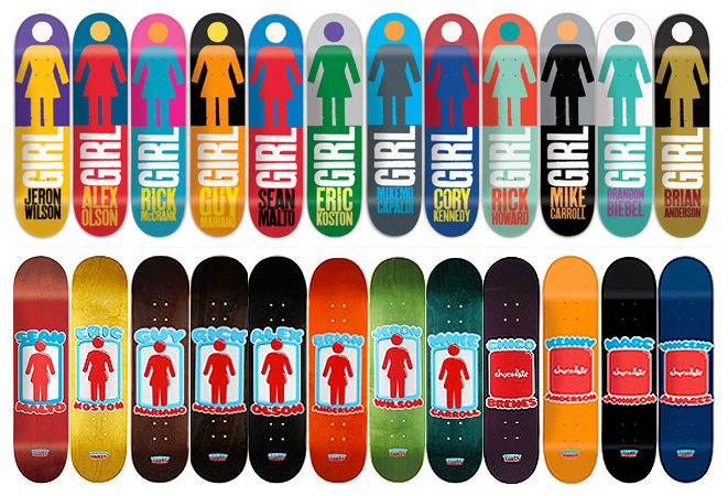 Girl And Chocolate Skateboards