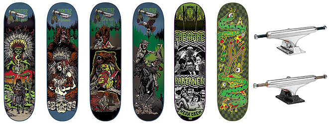 Creature & Independent - PACIFIC DRIVE SKATEBOARD SHOP