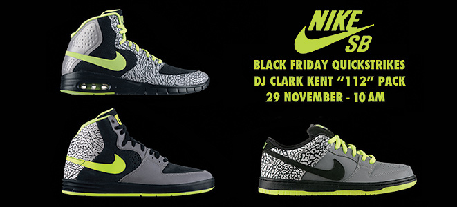 DJ Clark Kent x Nike SB
