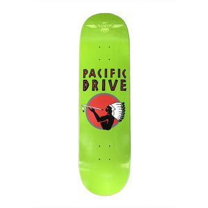 Pacific Drive Deck – Green 8.5″