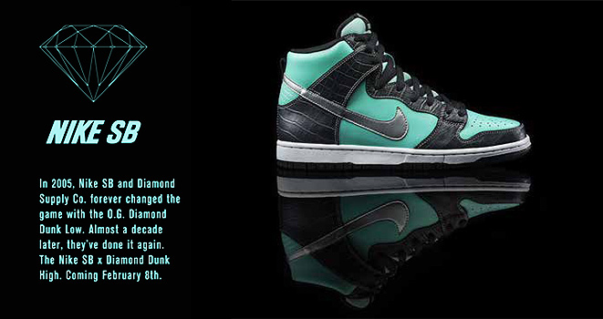 diamond dunk sb