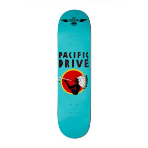 Pacific Drive Deck – Blue 8″