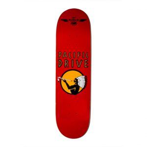 Pacific Drive Deck – Red 7.75″