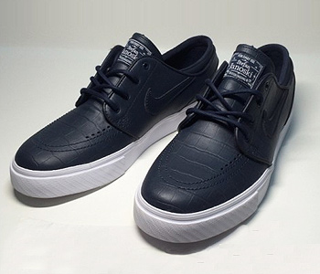 """to buy buying cheap shades of Nike SB Zoom Stefan Janoski Leather QS """"Blue Croc"""" - PACIFIC ..."""