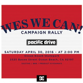 Wes We Can! Campaign Rally