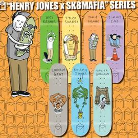Sk8Mafia X Henry Jones Series